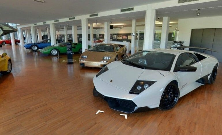 Inside Museo Lamborghini Thanks To Google Maps Drive Life