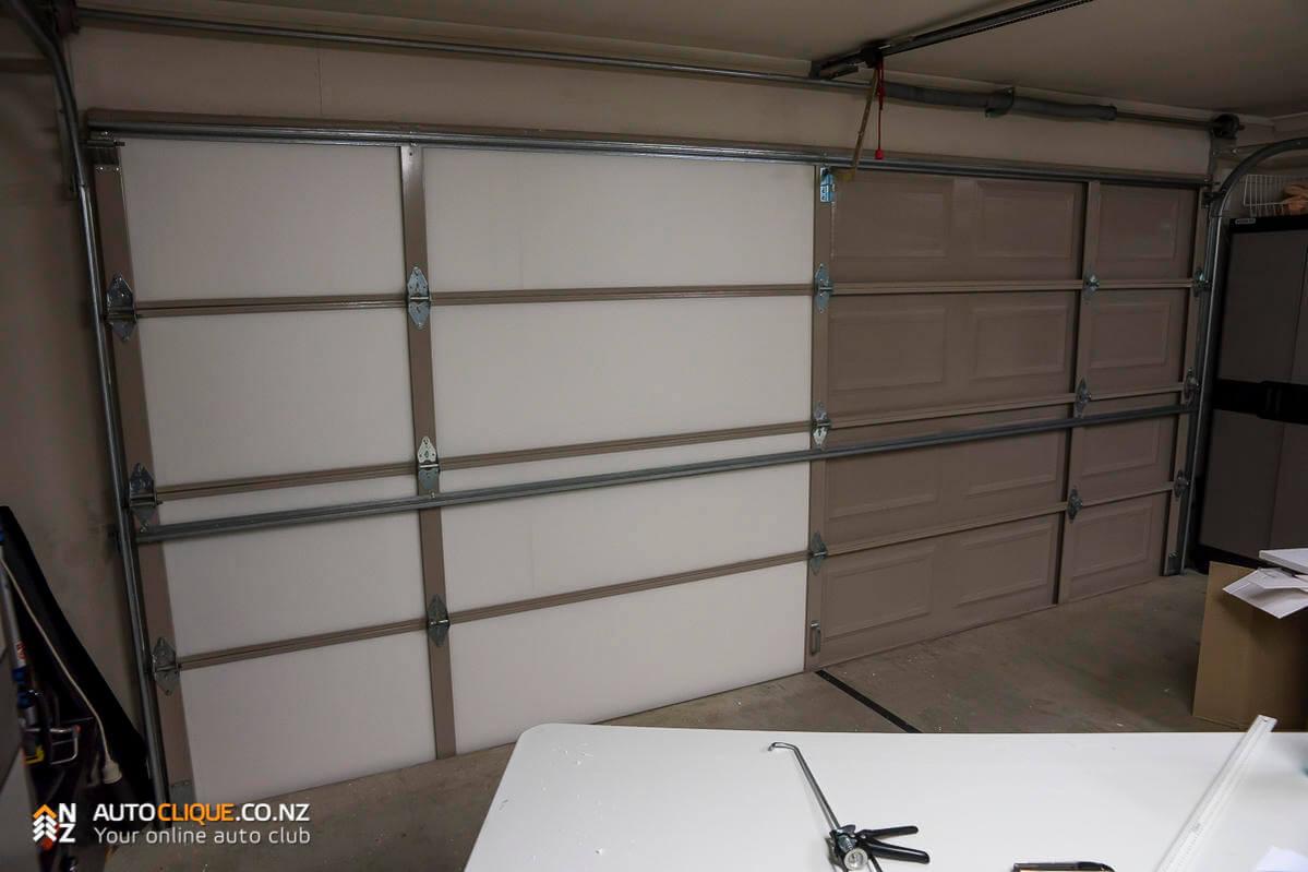 Expol garage door insulation kit install product for 10 x 11 garage door