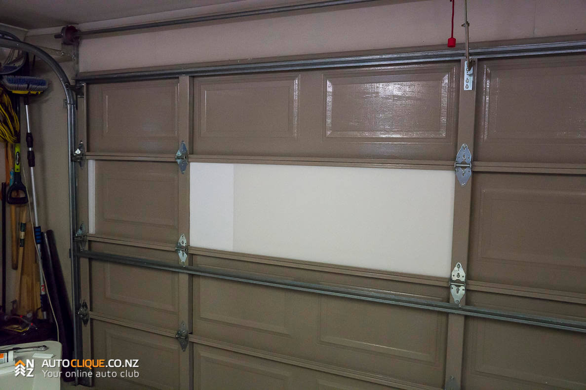 pre cut garage door insulation panels bing images