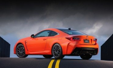 The Orange Beast: 2014 Lexus RC F