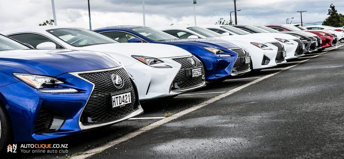 Lexus Rc Rc F Nz Launch Queenstown Highlands Park