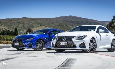 2015 Lexus RC & RC F NZ Launch - Queenstown & Highlands Park