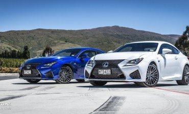 2015 Lexus RC & RC F NZ Launch - Queenstown & Highlands Park
