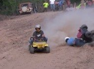 Extreme Barbie Jeep Racing - Why Is This Not On TV?