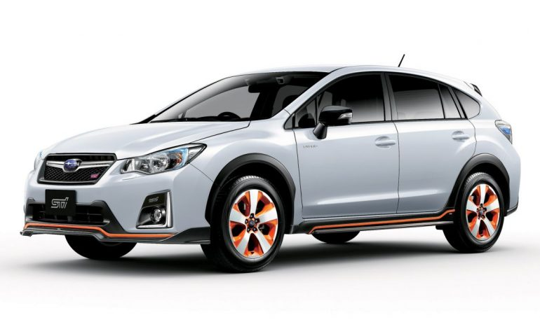 A Hybrid Subaru From STI? Well Sort Of