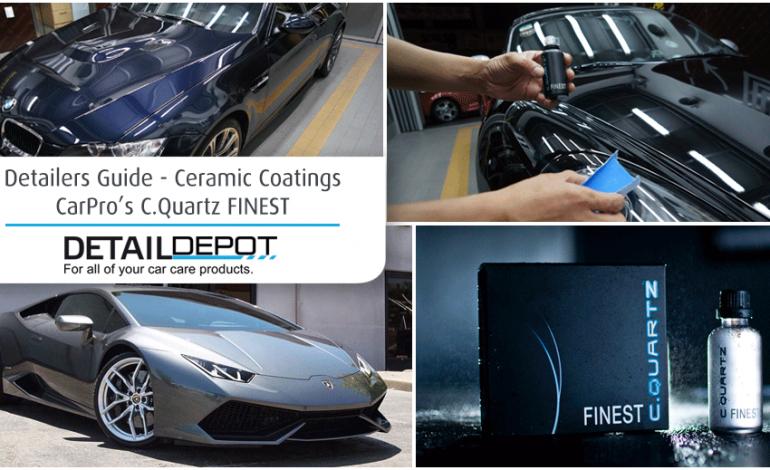 Detailers Guide – Ceramic Coatings – C.Quartz FINEST