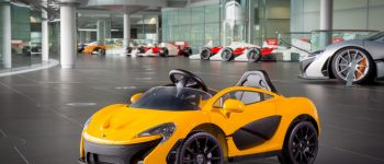 Press Release : The Latest McLaren P1 is Pure Electric