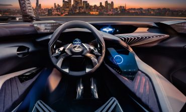 Press Release: Lexus UX Concept Introduces Radical Immersive 3-D Driving Experience