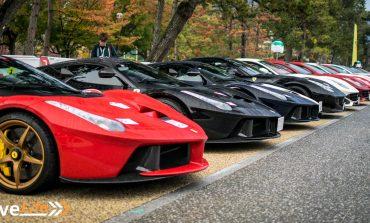 Ferrari Cavalcade Japan - Part 1: Old Meets New, West Meets East at Heian Shrine