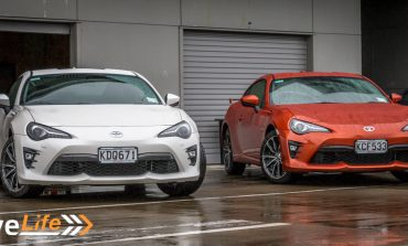 2017 Toyota 86GT Launch Event