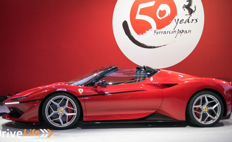 Ferrari Celebrates 50 Years in Japan With J50