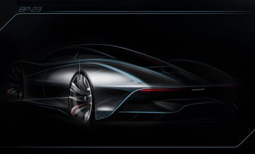 McLaren Releases Official Sketch Of Upcoming Three-Seater Hypercar