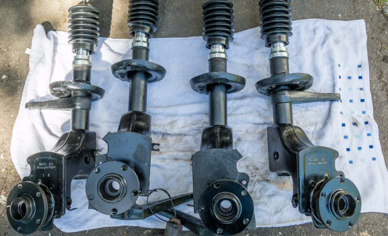 Project Rusty – Rob's Audi UR-Quattro –  Part 24: Suspension Progress