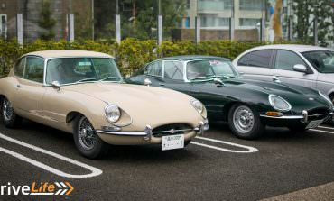 Classic Jags Meet In The Rain - A Very Wet Cars & Coffee in Tokyo
