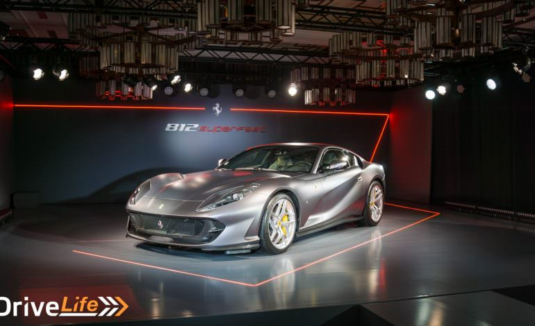 Ferrari 812 Superfast Debuts In Japan