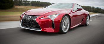 Press Release : Lexus LC Dynamic Luxury Coupe Lands in New Zealand in July.