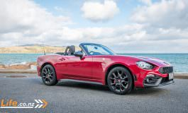 2017 Abarth 124 Spider - Car Review - Topless Italian