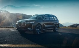 BMW Concept X7 iPerformance.  A new dimension in spaciousness.